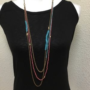 5/$25 New Directions Multi-Strand Beaded Necklace